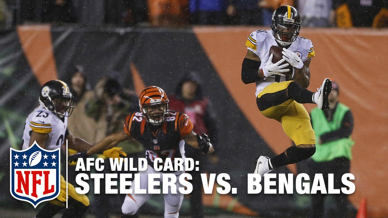 official photos 01186 b1fb0 Steelers D & the Rain Get the Best of AJ McCarron | Steelers vs. Bengals |  NFL