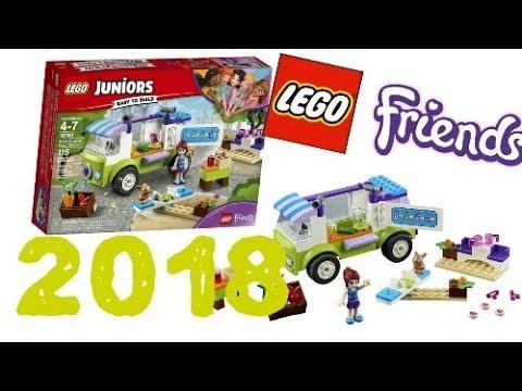 LEGO News: LEGO Friends 2018 winter sets, Mia's Organic Food Market ...