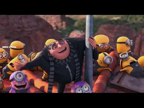 Download The Purple Minion Attacks scene   Despicable Me 2  2013