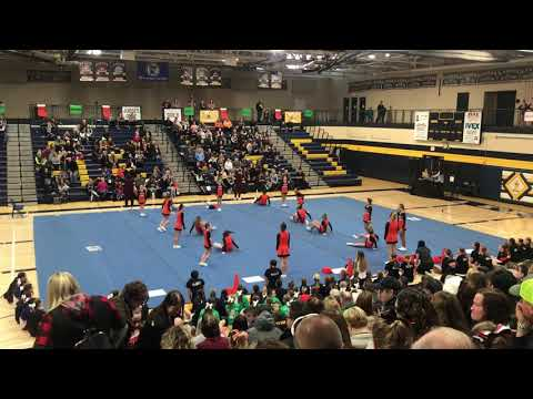 White Bear Lake Middle School Cheer 12-7-19