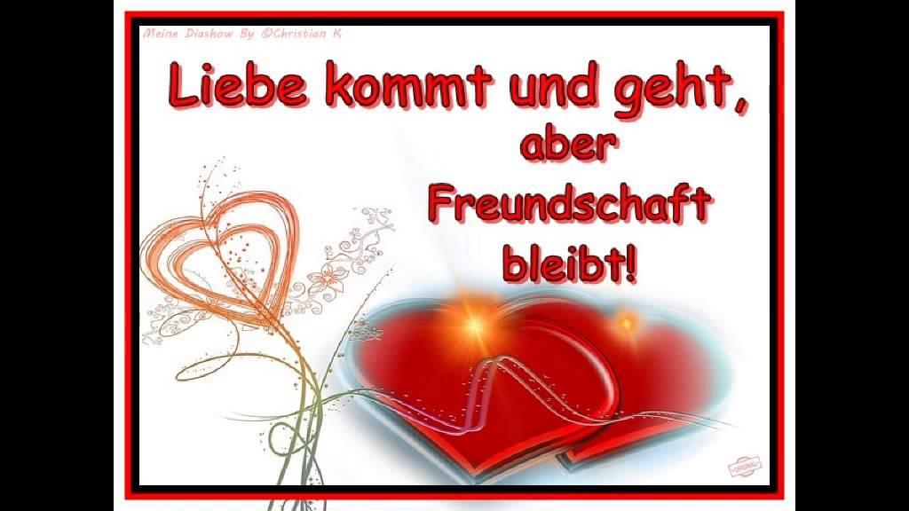 Beliebt Danke für deine Freundschaft: Liebe ist Ich liebe Dich mein  VT13