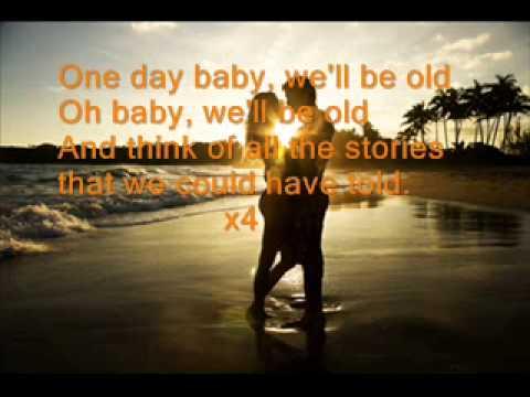 One Day/Reckoning Song (Original) Lyrics