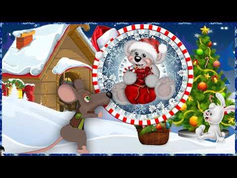 Весёлая мышка Новогодняя