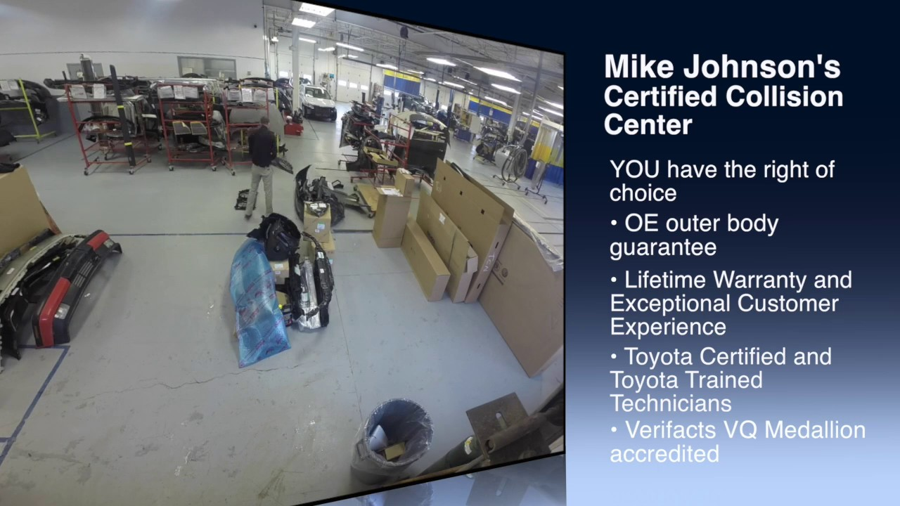 Mike Johnsonu0027s Certified Collision Center. Mike Johnsonu0027s Hickory Toyota