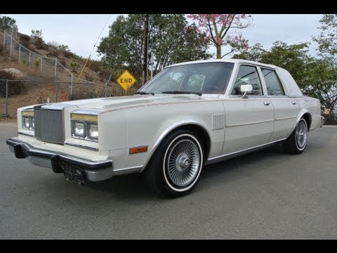 1986 Chrysler Fifth Avenue 1 Owner M Body Mopar 5.2 318 V8 5th Ave Classic Youngtimer