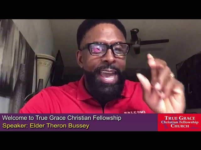 11-08-2020 - Wake Up, Part 1 by Elder Theron Bussey