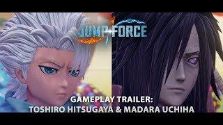 JUMP FORCE - Madara and Hitsugaya DLC Trailer