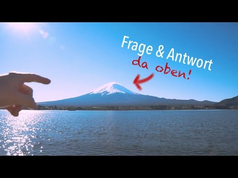 Q&A am Mt. Fuji! Auf dem größten Berg Japans