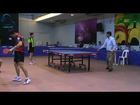 Đoàn Kiến Quốc vs Trần Tuấn Quỳnh ( T&T ) - Chung Kết Đơn Giải Bóng Bàn Vô Địch Đông Nam Á 2010