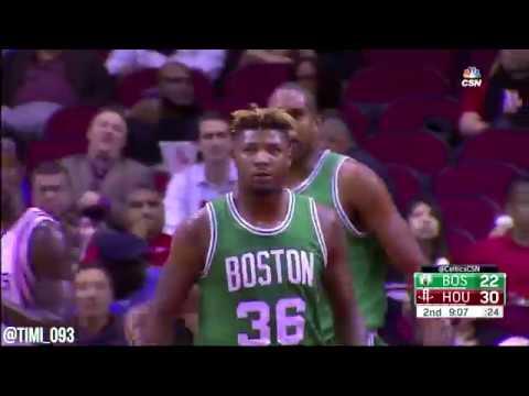 cbd36e32bfa3 Marcus Smart Highlights vs Houston Rockets (13 pts) - YouTube
