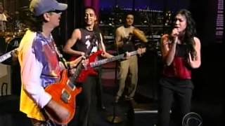 Santana & Michelle Branch - The Game Of Love [live]