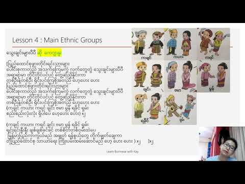 Learn about Burmese Main Ethnic Groups