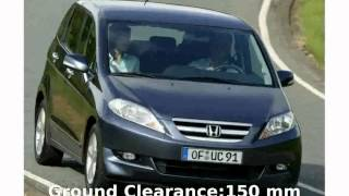 2004 Honda FR-V 2.2 SE - Specification, Technical Details