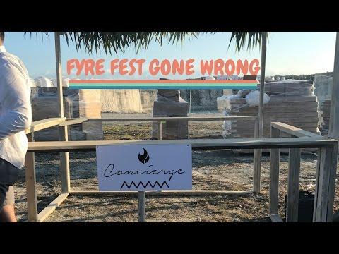 Fyre Festival COMPLETE Disaster. VLOG of Chaos!