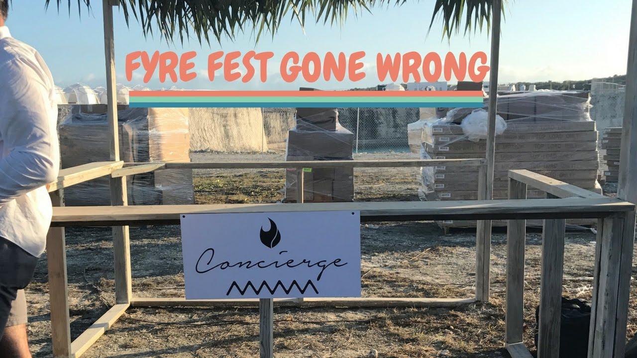 Download Fyre Festival COMPLETE Disaster. VLOG of Chaos!