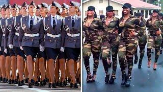 7 schönsten weiblichen Soldaten der Welt