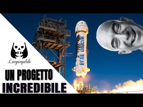 Alla conquista dello spazio: l'incredibile progetto di Jeff Bezos (presidente di Amazon)