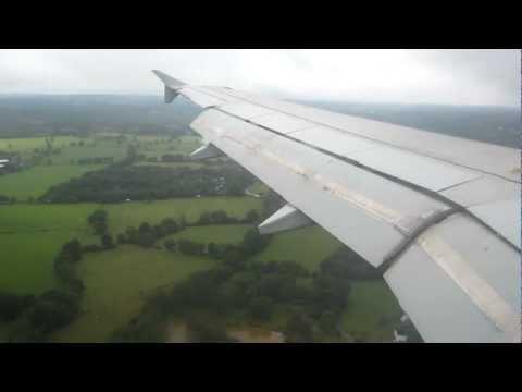 Air Malta landing at Gatwick Airport July 2012 *HD