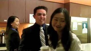 The FBI OFFICE comedy - Outtake clip -  Agent Jon Kim Ladies Man - actress Catherine Kim Poon