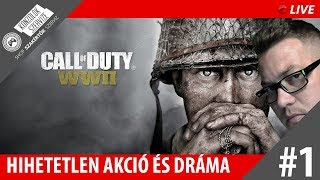 ÚJRA HÁBORÚ! | Call of Duty WW2 | ROG POSEIDON PLATINUM 1080TI