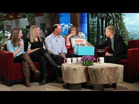 Ellen Has a Surprise for This Family