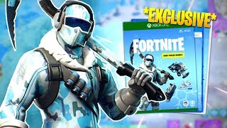 NEW *EXCLUSIVE* ARCTIC SKIN BUNDLE - DEEP FREEZE (Fortnite: Battle Royale)