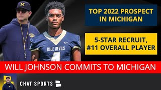 Michigan Football Recruiting News: 2022 5-Star CB Will Johnson Commits To Jim Harbaugh, Full Details
