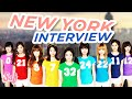 Soshifed Interviews Girls' Generation (SNSD) in New York l @Soshified