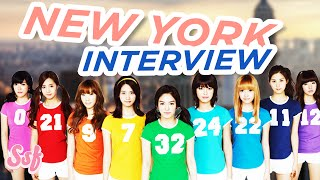 Soshifed Interviews Girls' Generation (SNSD) in New York l @Soshified