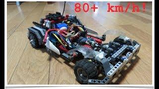 Possibly the Fastest Lego Car V2.0?