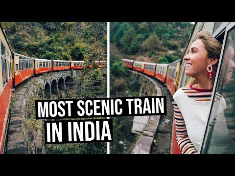 Most Scenic Train Ride in India | Toy Train from Kalka to Shimla