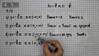 Упражнение 9.13. Алгебра 7 класс Мордкович А.Г.