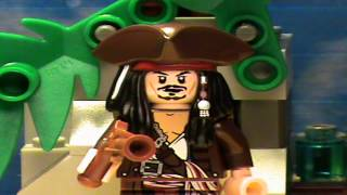 Lego Pirates of the Caribbean Theme Song - Tame
