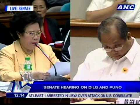 "Santiago to Puno on firearms bidding: ""Bakit ka nakikialam? What is your legal basis?"""