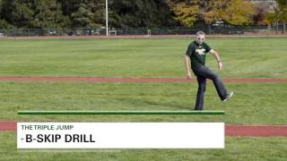 Triple Jump Drills to Improve Ground Contact! - Track 2015 #40
