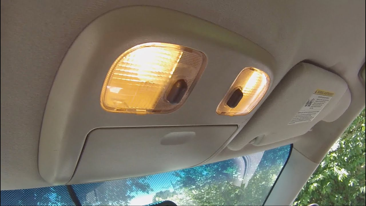 How To Replace Ford Fusion Interior Lights Easy