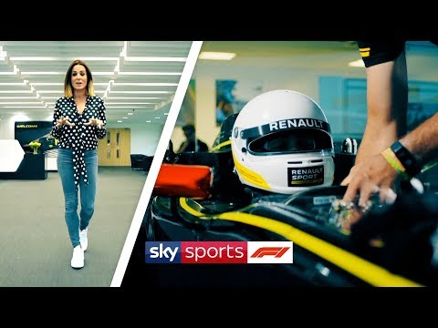 Behind-the-scenes Tour Of Renault's €50 Million F1 Factory!