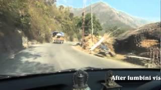 WAY BACK TO POKHARA AFTER LUMBINI DARSAN ON 18 FEB 2012               BY- JL GURUNG