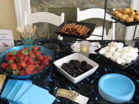 Chocolate fountain dippers | church sweetheart banquet ... |Chocolate Fountain Ideas