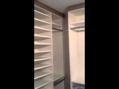 Spare Room Turned Into A Spacious Closet Youtube