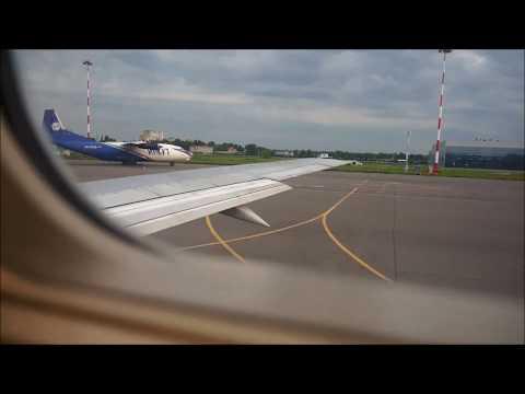Перелёт Москва (Жуковский)- Минск.Belavia. Boeing 737-500