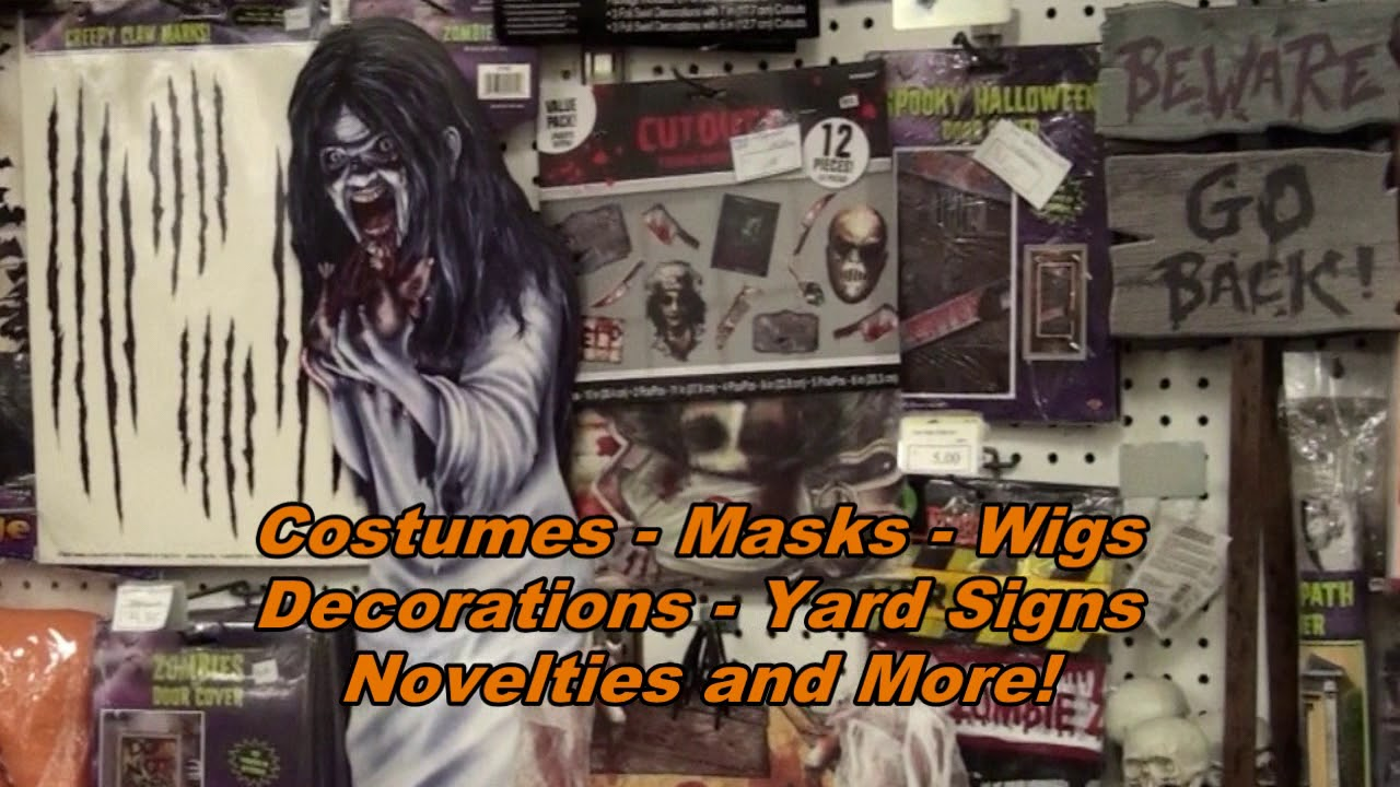 Halloween Headquarters Stores | The Other Store Halloween Headquarters Youtube
