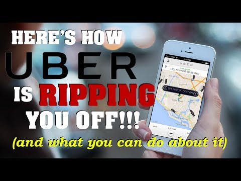 Uber is RIPPING YOU OFF with Upfront Pricing