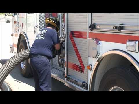 How to Draft from a Fire Engine