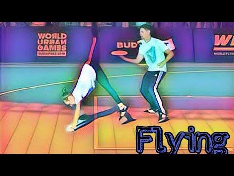 FLYING DISC FREESTYLE (ITA) World Urban Games Budapest 2019
