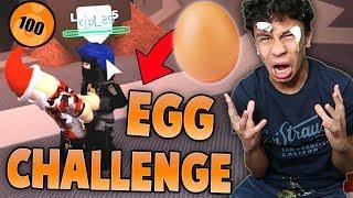 LEVEL 50 EGG CHALLENGE IN JAILBREAK?! (Roblox Jailbreak)