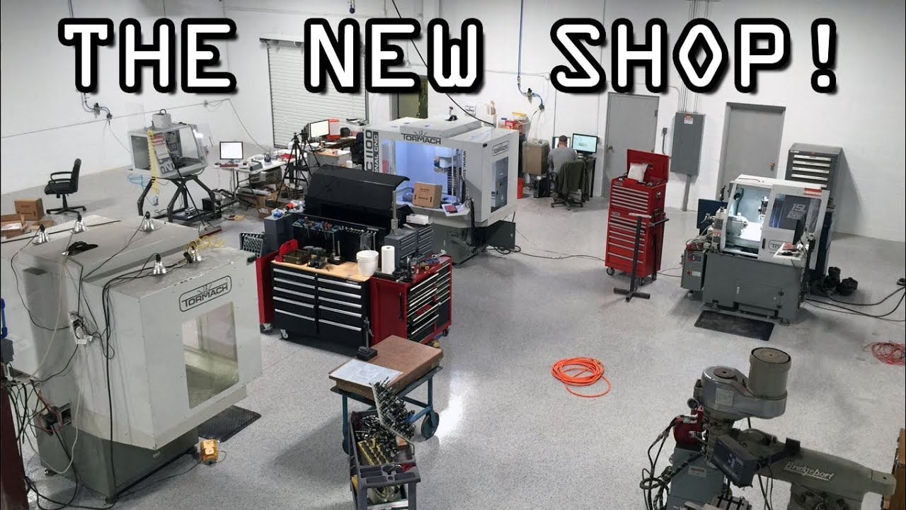The New Machine Shop Moving Construction And Tour Youtube