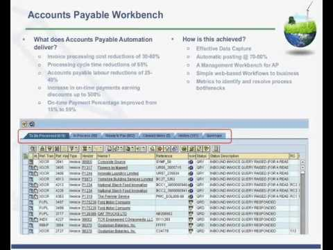 AP Workbench For SAP Automate Your SAP Invoice Processing YouTube - Sap invoice automation