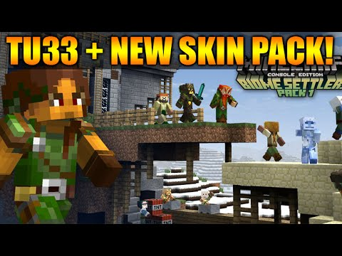★Minecraft Xbox 360 + PS3: TU33 Update OUT NOW! - NEW Skin Pack & Update Changes★