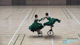UniCircle Flow : Bigger than Us (Pair ) 一輪車演技 Unicycle Dance